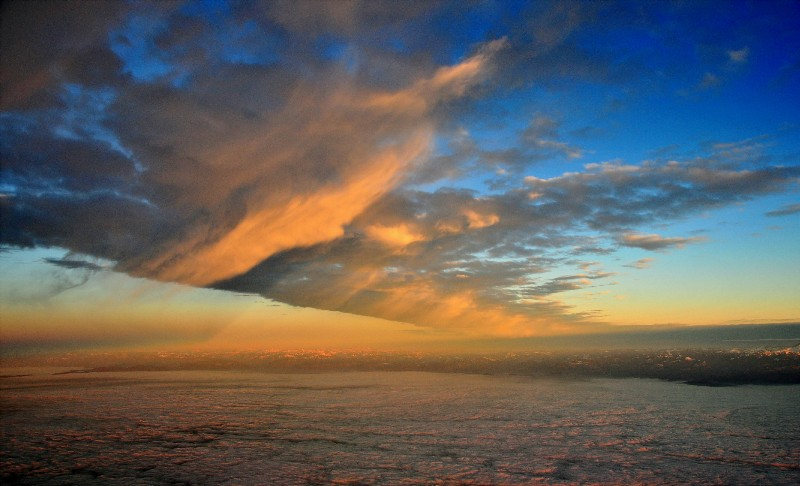 line of Virga cloud - Heavenly Sky Book
