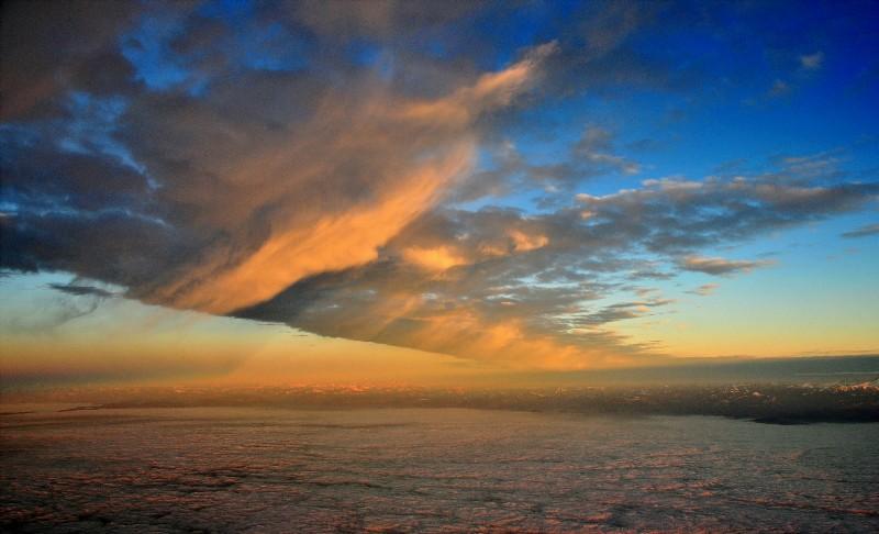 line of Virga cloud - Heavenly Sky Book