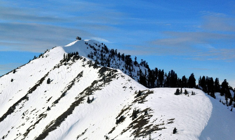 to Granite Mountain lookout