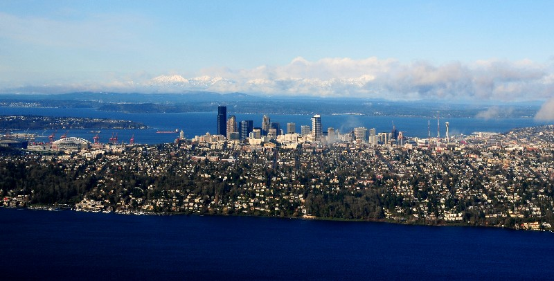 bodies of water in Seattle