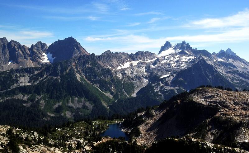 Summit Chief and Overcoat Peak
