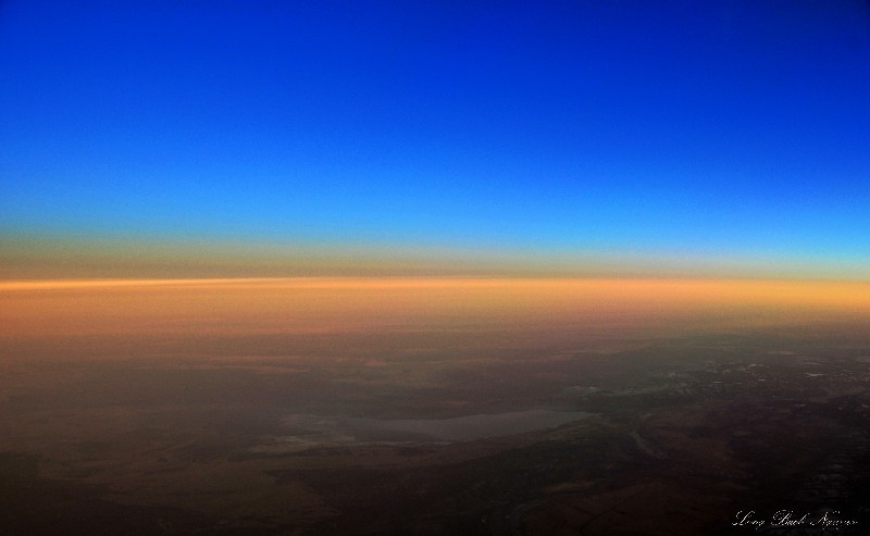 curve of the atmosphere