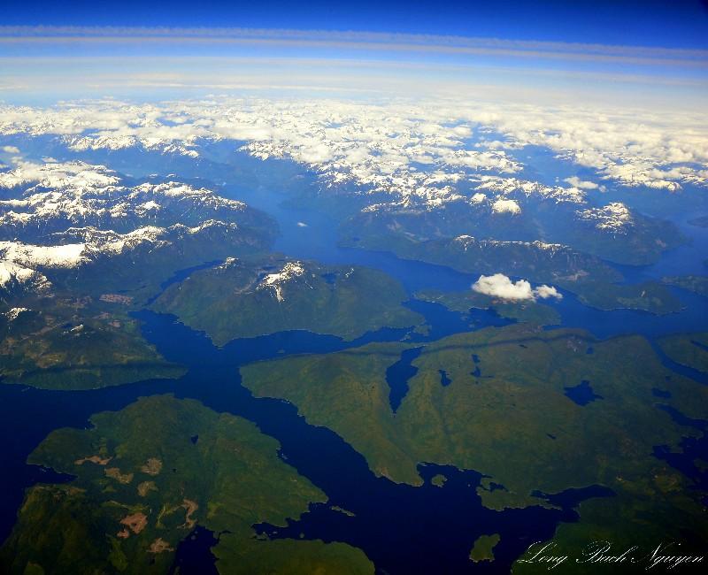 Over British Columbia at 43000