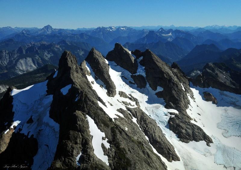 Glaciers on Three Fingers