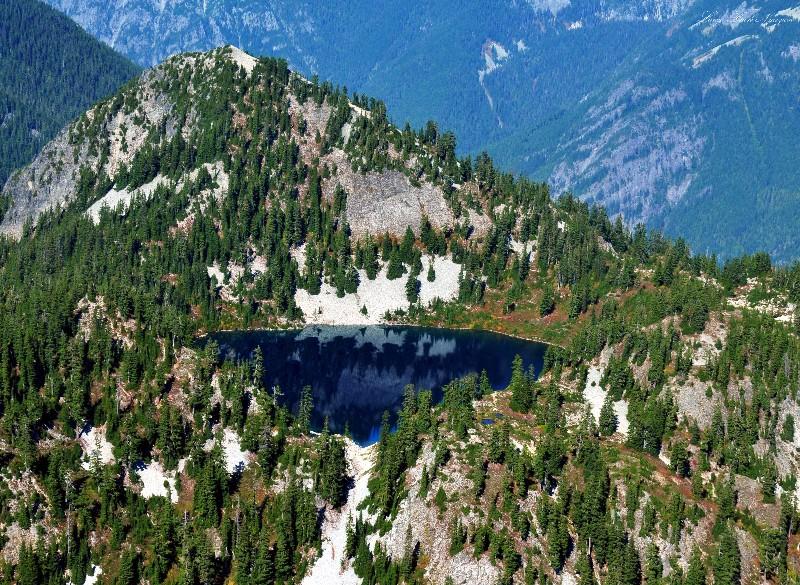 Gem Lake by Snow Lake