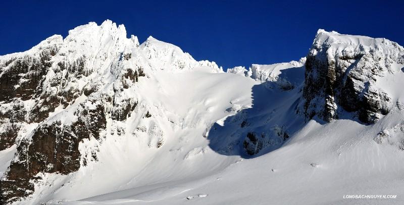 westside of Lincoln Peak