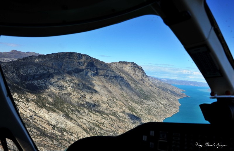 contact approach to Sondrestrom Airport Greenland