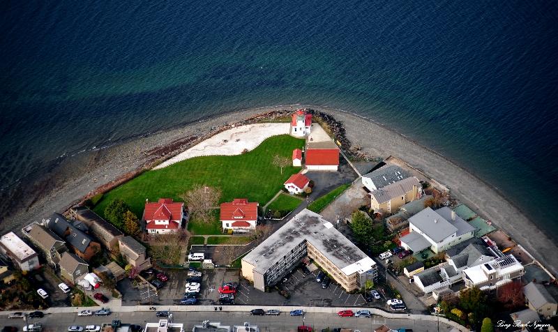Alki Beach Seattle Map.Alki Lighthouse And Alki Beach West Seattle Wa Photo Long Bach
