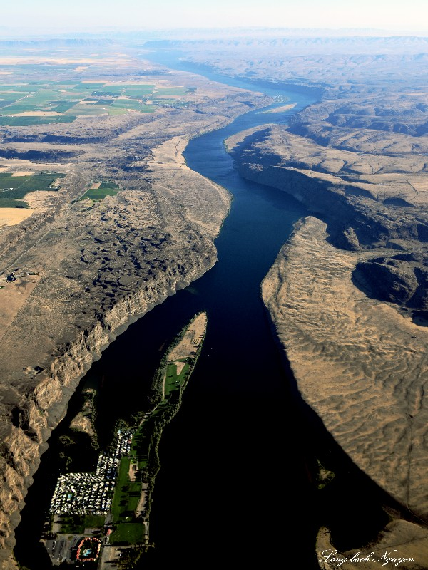 Crescent Bar Recreational Area, Columbia River, Wanapum,Washington