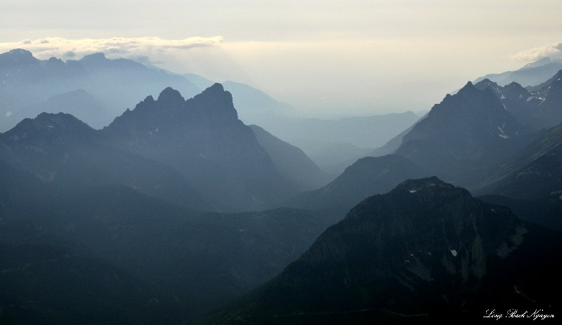 Mt Baring, Eagle Rock, Merchant Peak, Cascade Mountians, Washington