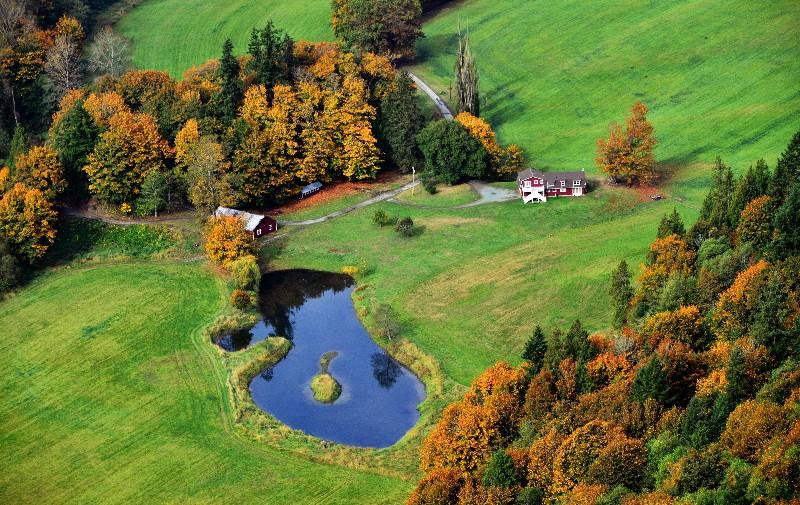 Shorts School Road Home, Snohomish River Valley, Washington