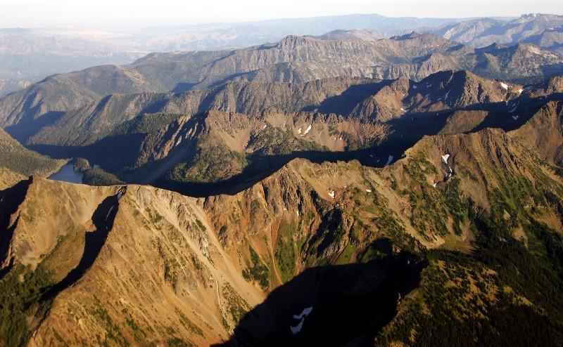 Chiwaukum Mountains,Painters Thumb, Big Jim Mountain, Cascade Mountains, Washington