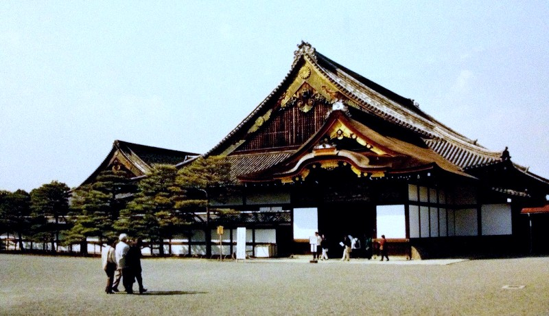 Temple in Kyoto, Japan 2000