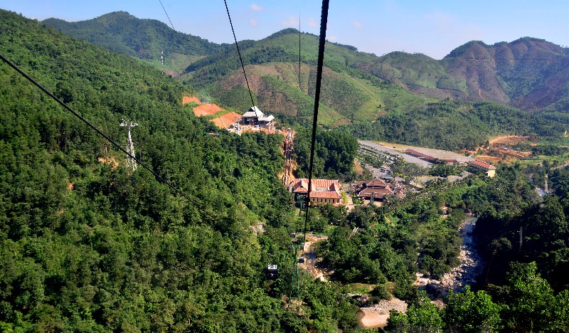 Gondola of Ba Na Hills Mountain Resort, Da Nang, Vietnam