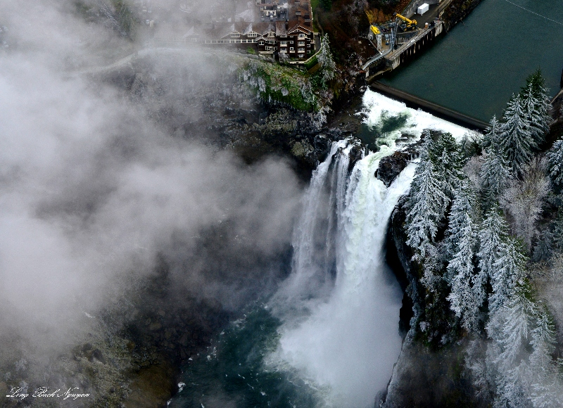 Salish Lodge, Snoqualmie Falls, Frozen Fog, Washington