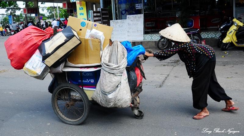 hard life, Saigon, Vietnam