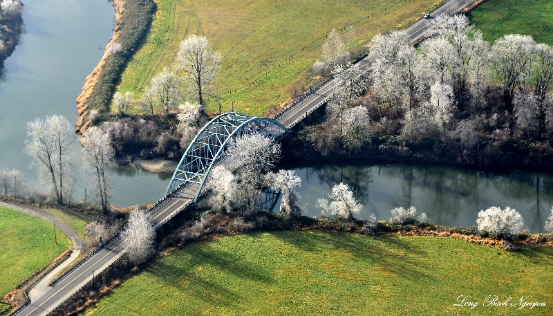 NE 124th st Bridge, Snoqualmie Valley, Washington