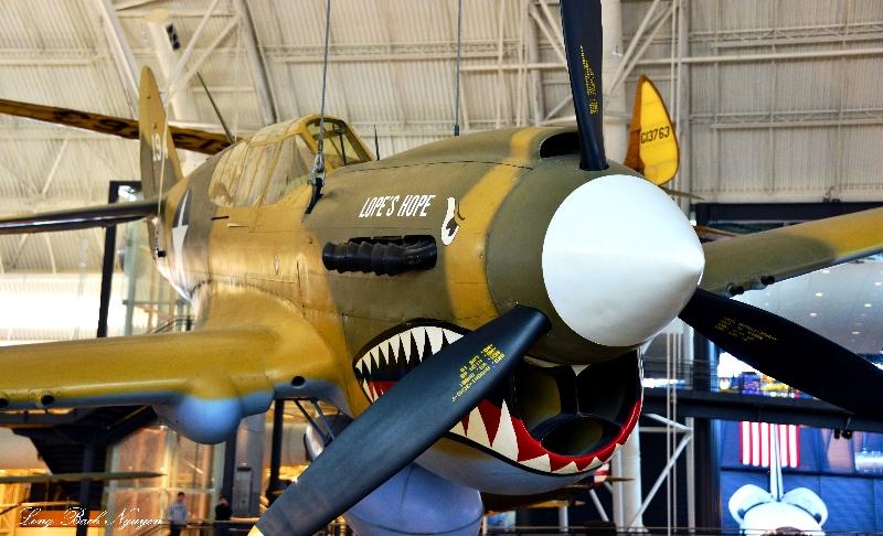 Lopes Hope, Curtis P-40, National Air and Space Museum, Steven F. Udvar-Hazy Center