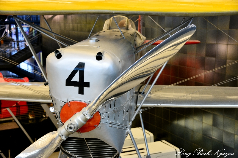 Boeing FB-5, National Air and Space Museum, Steven F. Udvar-Hazy Center, Virginia