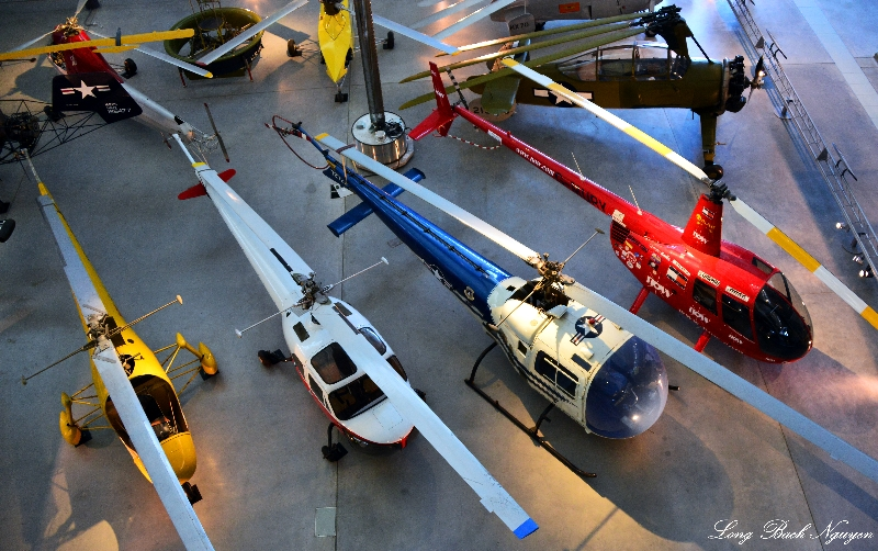 Helicopter , Air and Space Museum