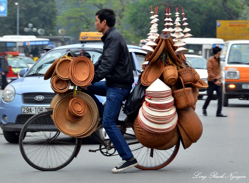 baskets and souviners, Hanoi, Vietnam