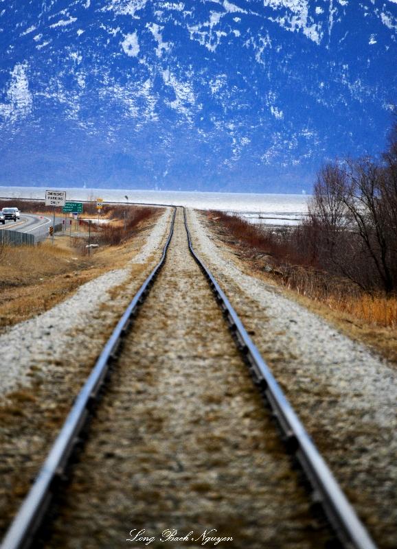 Seward rail line, Anchorage, AK