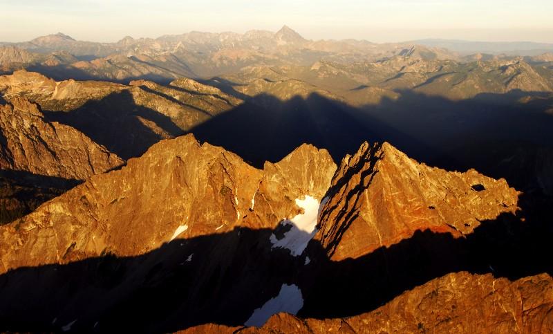 shadow peaks