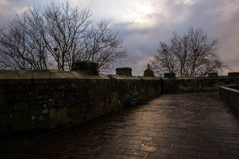 Sur les rempart se St Malo.