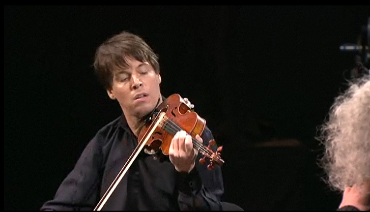 Joshua Bell in the Shostokovich Quintet for piano and strings  in g