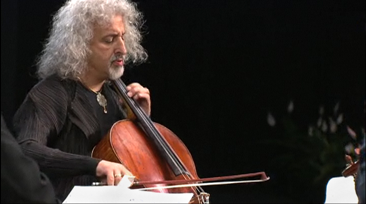 Mischa Maisky in the Shostakovich Quintet