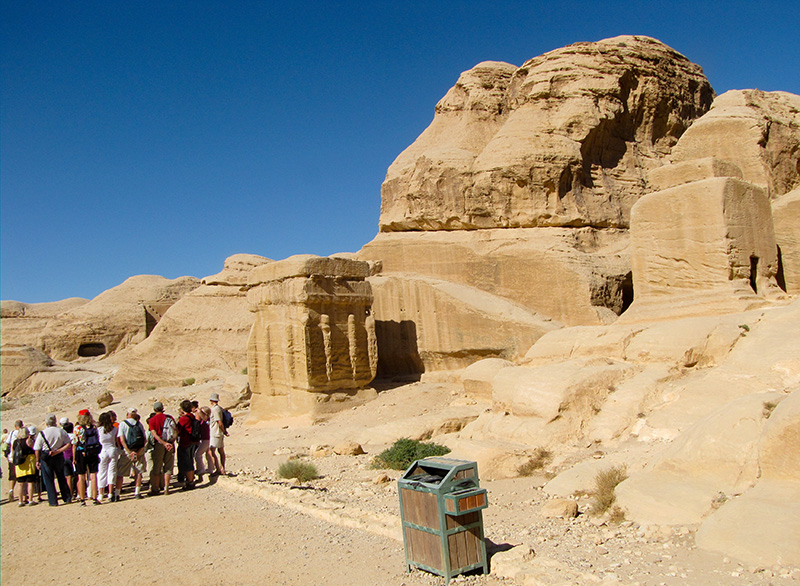 The Djinn Blocks - earliest primitive private tombs