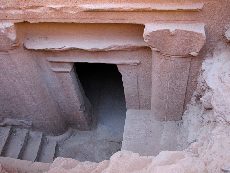 Found under the Treasury ! <a href=http://bit.ly/petra_door target=_blank><u>What was it</u></a>?