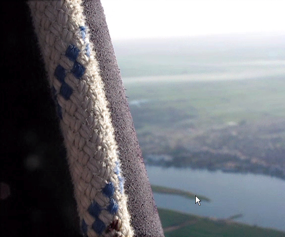 From video, the Nile and our basket ropes