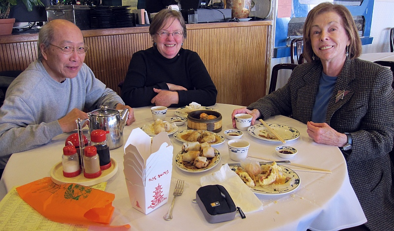 Robin, Margaret, and Varda