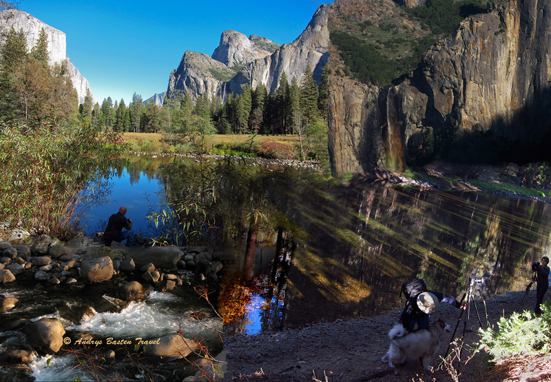 Water at Yosemite  (from 4 photos).  Larger one <a href=http://bit.ly/yosemitewater target=_blank><u>here</u></a>