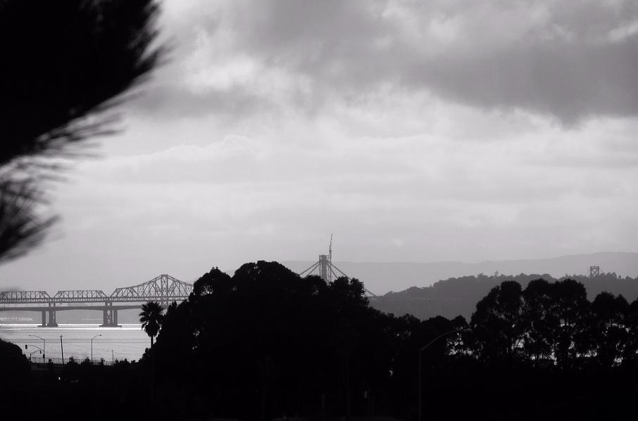 SF Bay Bridge at left, 272mm-equiv, Day 1, w/ default, heavier compression. 0018