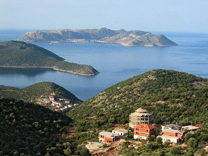 Coast ride from Kalkan to Kas is gorgeous.
