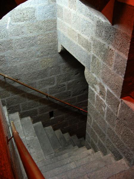 Stairs at our restored caravan-stop (Deliler Han), now Hotel Kervansaray.