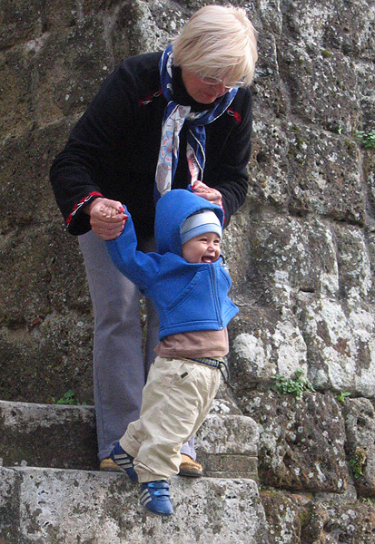 Sovana.  I loved this kids constant delight.