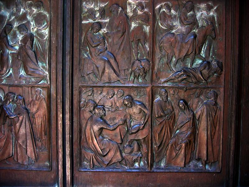 Siena Cathedral doors (19th C.)