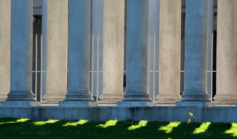 Palace of the Legion of Honor area (semi-abstract)