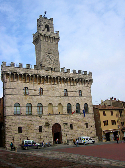 The Palazzo Comunale tower, from which I took some pictures