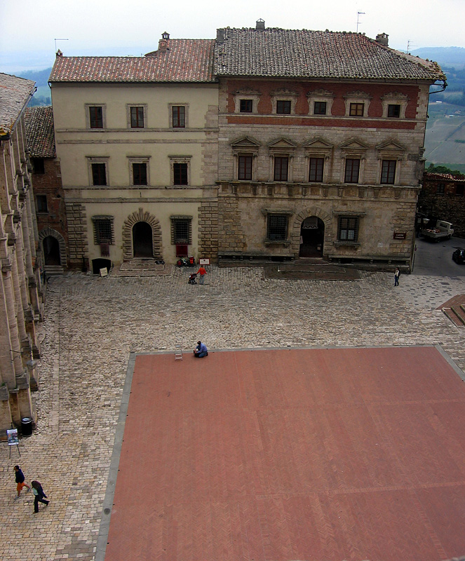 Piazza Grande from Comunale tower