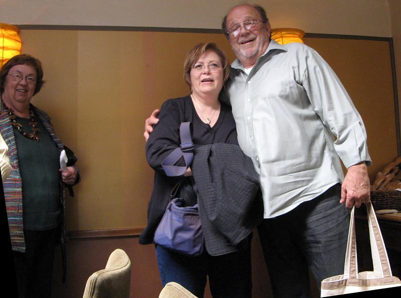 Judy, Chris, Frank