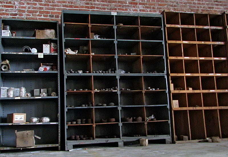 Cabinets for parts that drove Winehaven