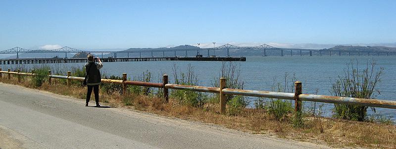 Checking out the San Rafael bridge
