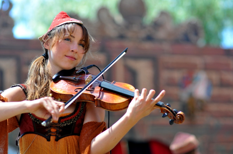 Renaissance Pleasure Faire 2011-Gypsy Violin.