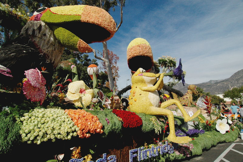 Rose Parade 2008, Animation Trophy