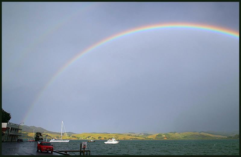 Rainbow at Mangonui