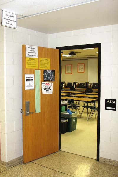 My Old Classroom Doorway
